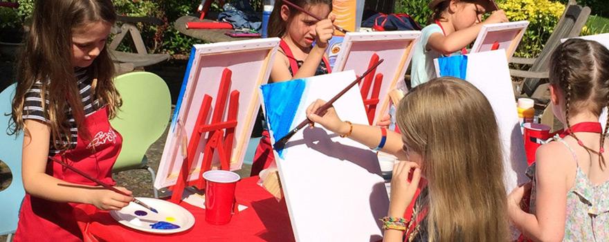 Çocuklar için yaz aktiviteleri